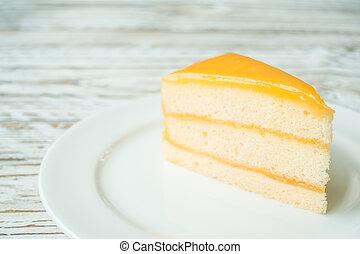 laranja, bolo