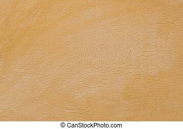 laranja, concreto, parede, fundo, abstratos