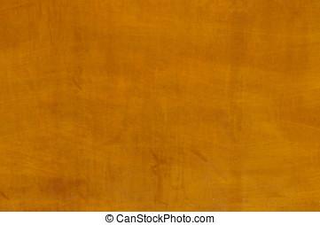 laranja, concreto, parede, fundo,  Textured