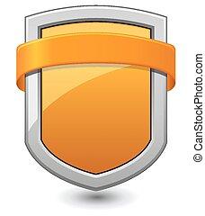 laranja, escudo