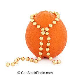 laranja, fruta, beleza