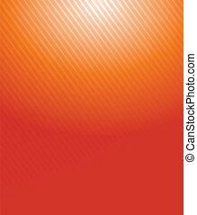 laranja, gradiente, linhas, ilustração, padrão