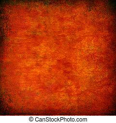 laranja, grunge, textured, abstratos, fundo