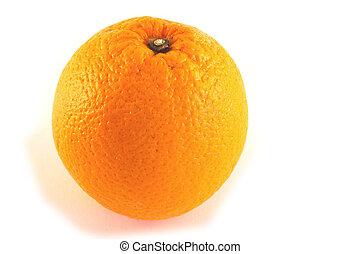 laranja, inteiro