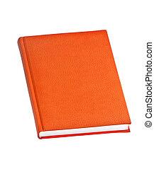 laranja, livro duro tampa