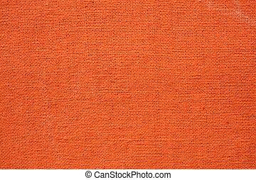 laranja, lona, fundo