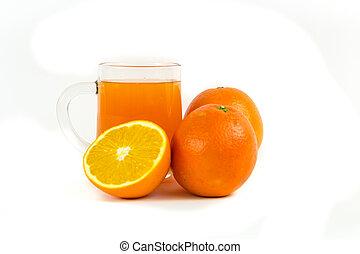laranja mandarin, suco
