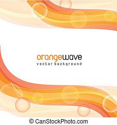 laranja, onda