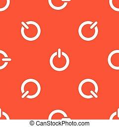 laranja, padrão, poder