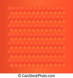 laranja, padrão, seamless, fundo, tecer