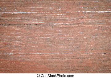 laranja, pintado, madeira, fundo