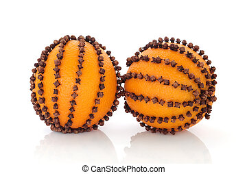 laranja, pomanders