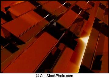 laranja, retângulos