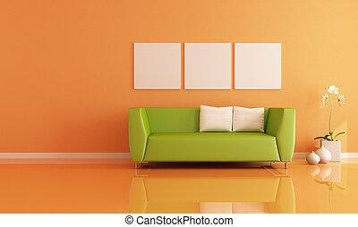 laranja, sala