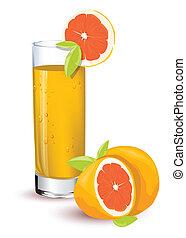 laranja, suco
