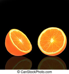 laranja, suculento