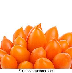 laranja, tomates