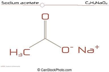 Sodium acetate.