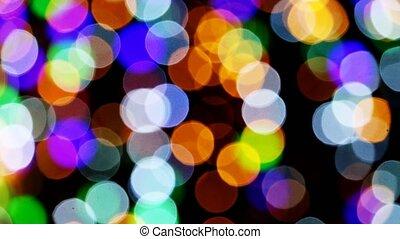 Rainbow Bokeh Prism Rainbow Light Flares Overlay On Black Background Canstock