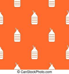 Large bottle of water pattern seamless