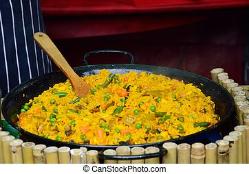 Large Bowl of Paella