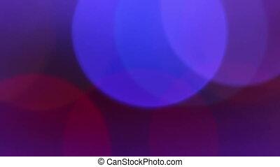 Large Circles Bokeh