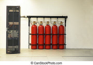 Large CO2 fire extinguishers