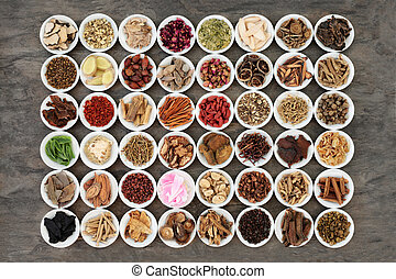 Large Collection of Chinese Herbs