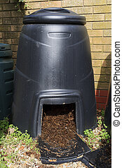 Compost bin - Large Compost bin to recycle garden and...