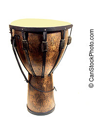 Large Djemba Drum - A large Djemba drum with carrying strap...