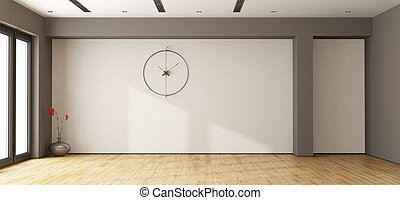 Large empty room