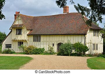 Large farmhouse at flatford