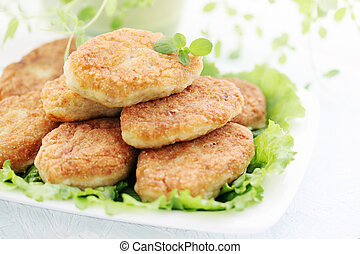 cutlets with thyme