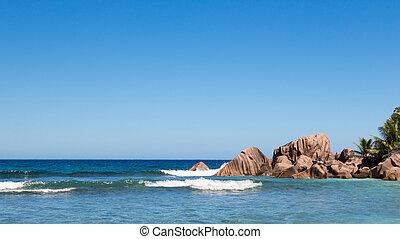 stones in the Indian Ocean