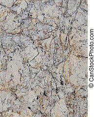 large granite slab of brown gray black beige stone