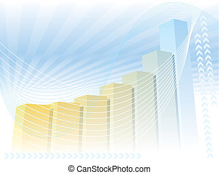 Large graph - A colorful large graph, good background for ...