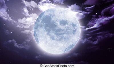 Large Halloween moon - Halloween moon background is suitable...