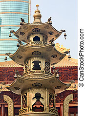 Large Incense Burner Jing An Temple Shanghai China - Large...