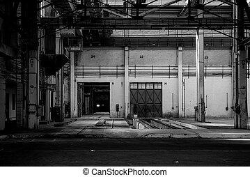 Large industrial door