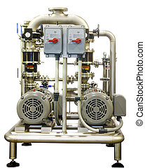 Large Industrial Pump