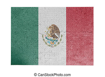 Large jigsaw puzzle of 1000 pieces - Mexico