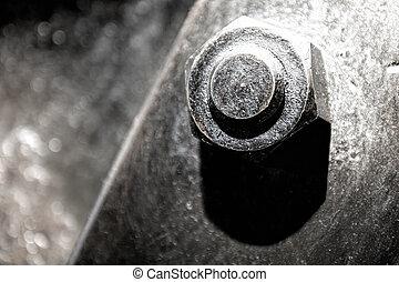 large metal bolt