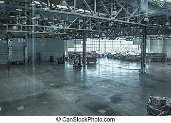 Large modern storehouse