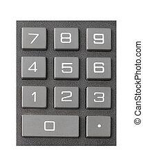 Large Numeric Keypad - Large numeric calculator keypad...