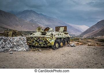 Large old tank