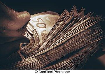 Pile of Euro