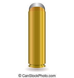 large rifle bullet