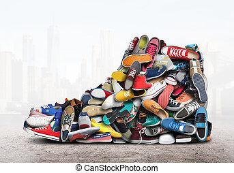 Large sneaker