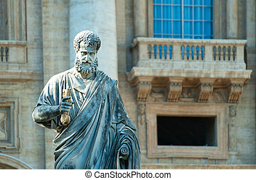 Large statue of St. Peter