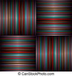 large stripe weave